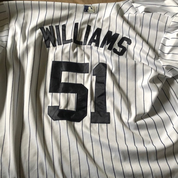 sports shoes ef14e 5d3f7 Bernie Williams New York Yankees Jersey
